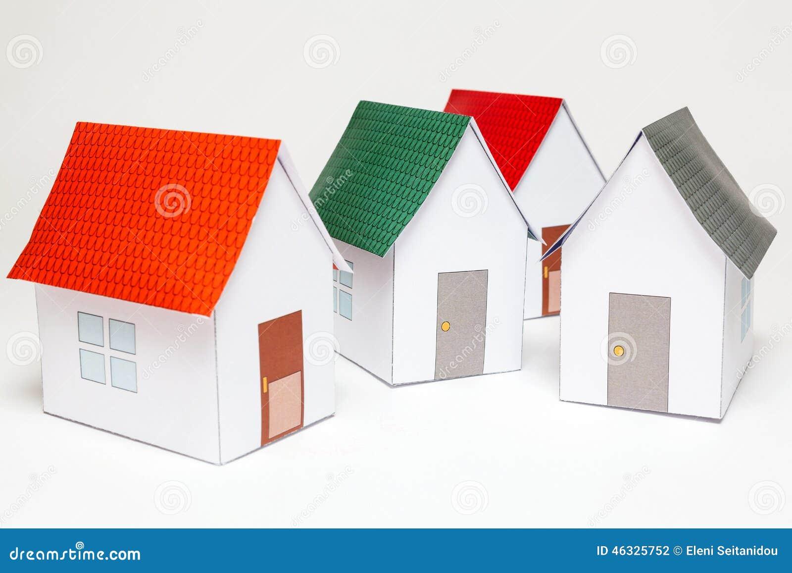 casa de papercraft foto de stock imagem de fundo moradia 46325752