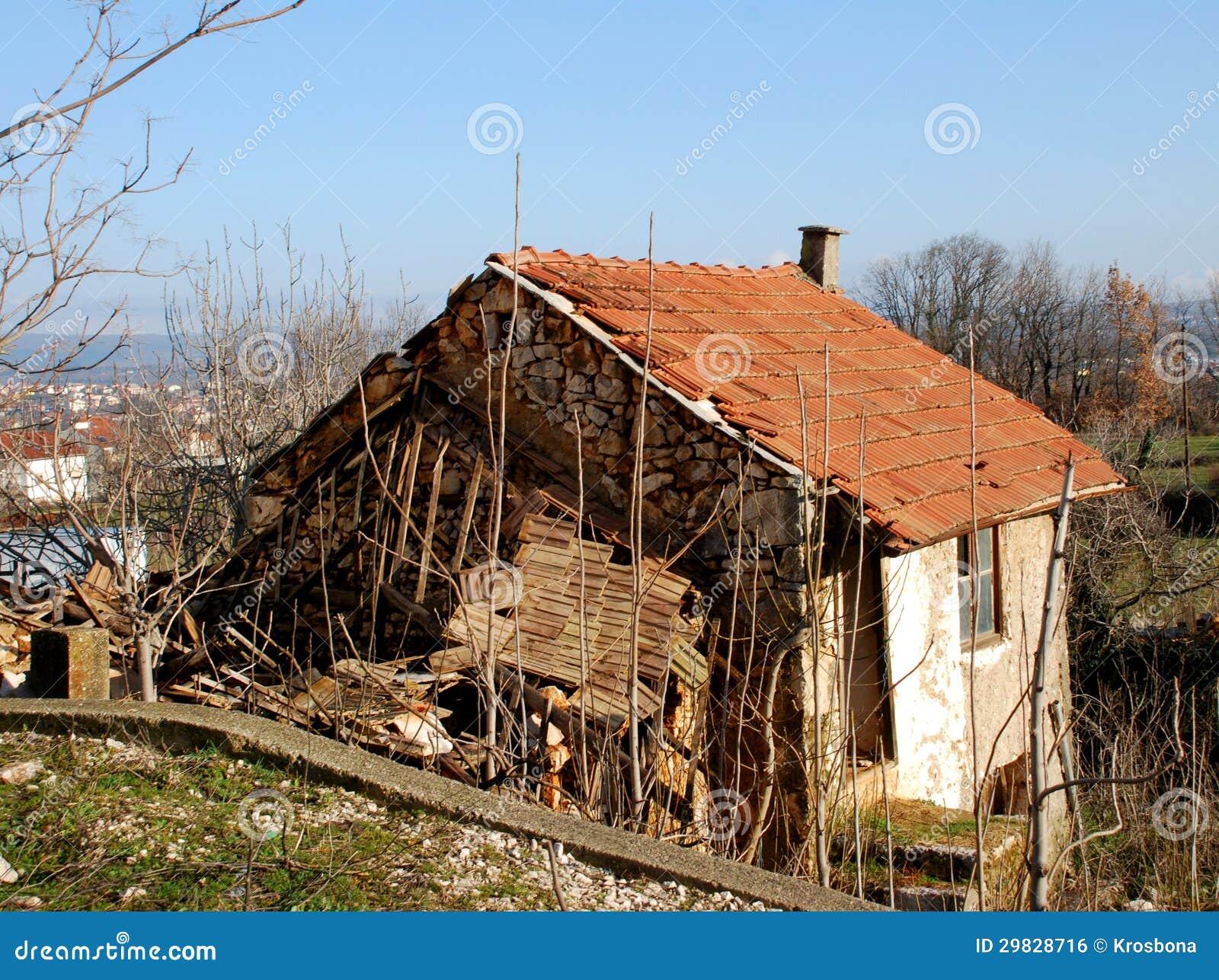 Casa de pedra velha