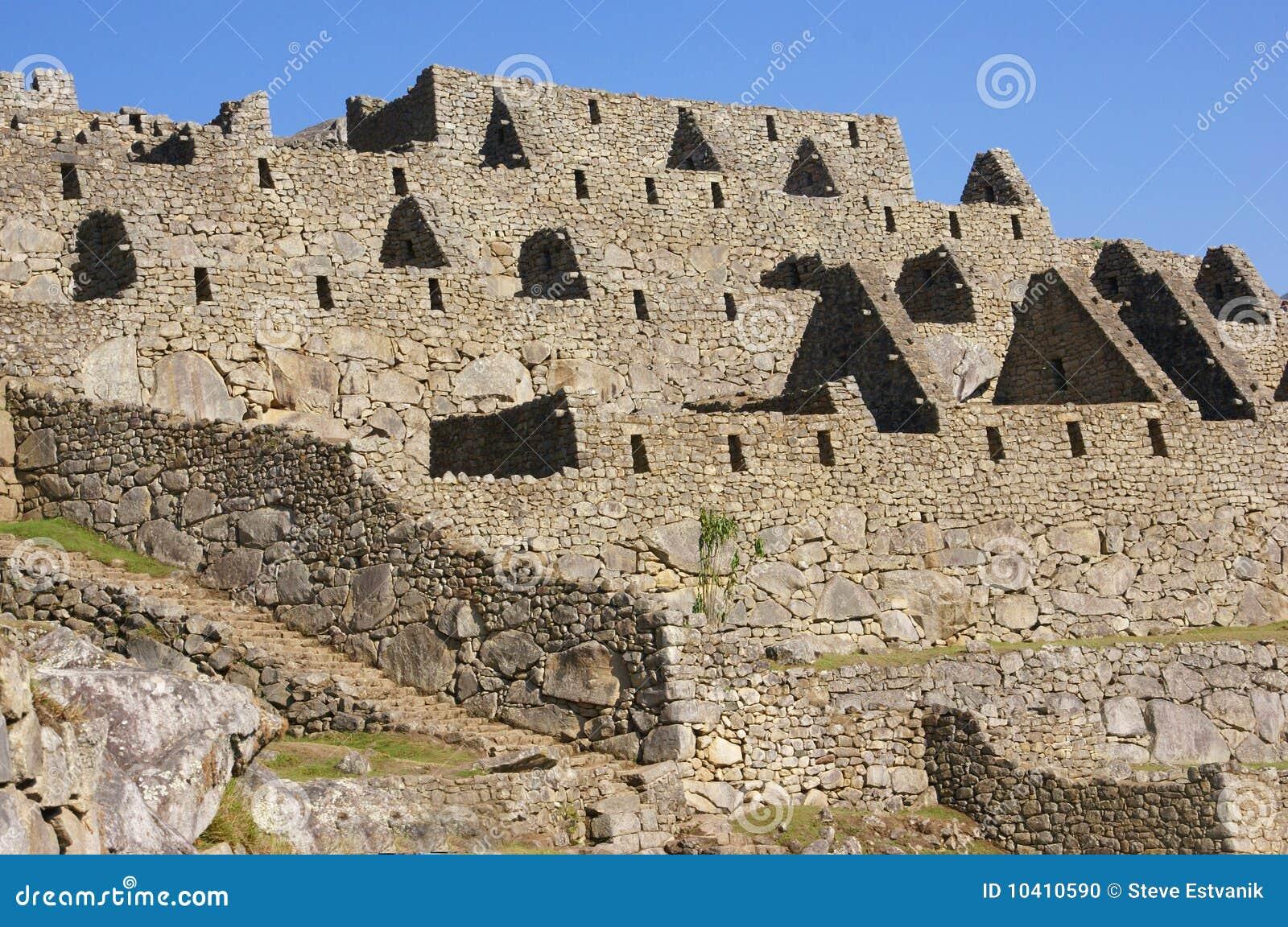 Casa de piedra del inca sin la azotea foto de archivo for La azotea de la casa de granada