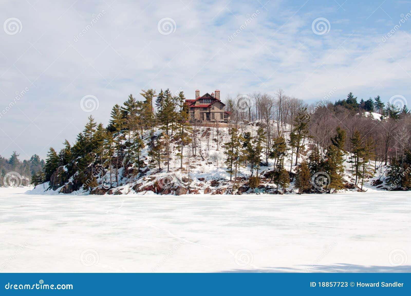 Casa de Wilson, lago Meech