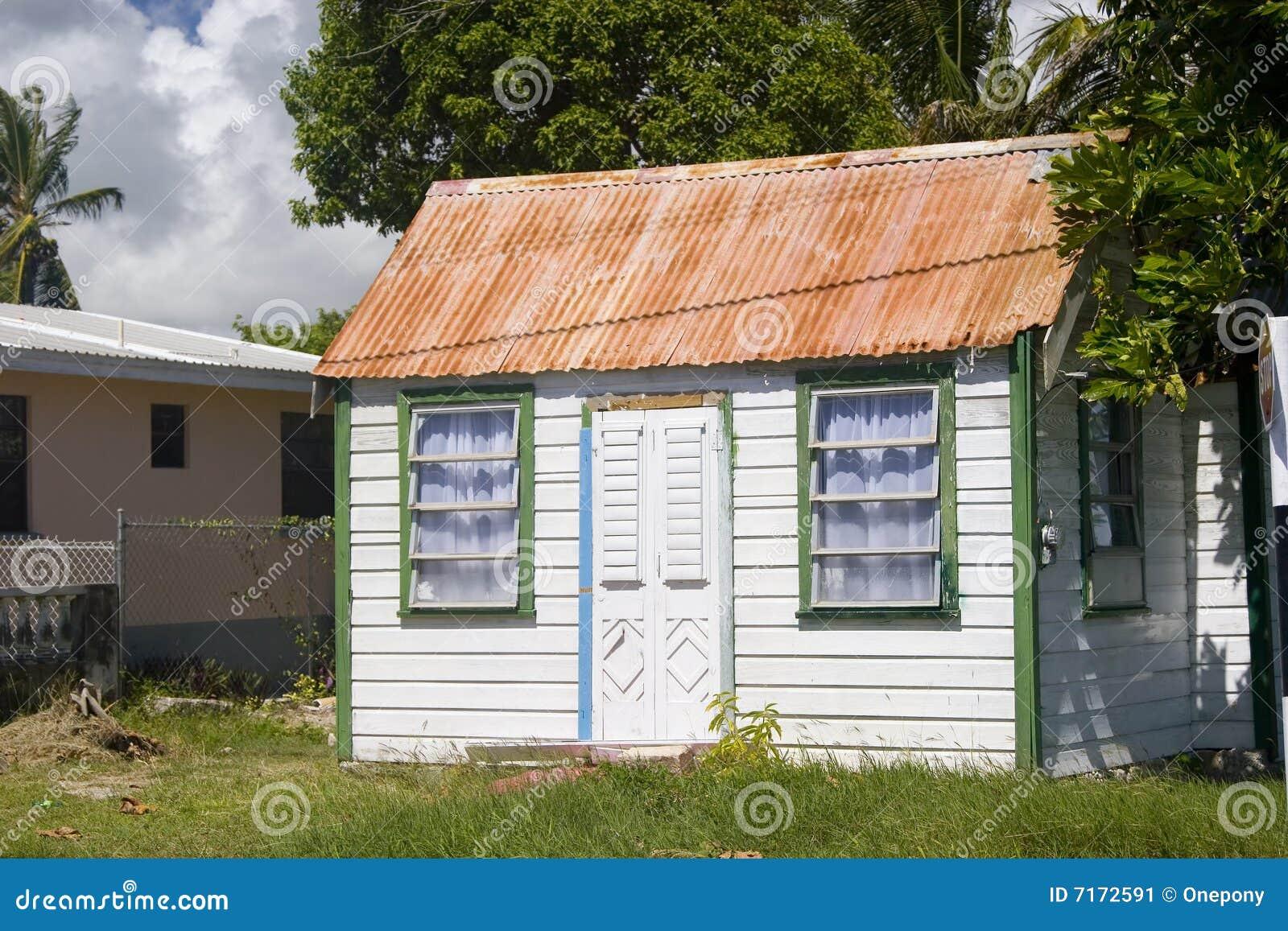 Casa del bien mueble de barbados imagen de archivo for Casa del mueble