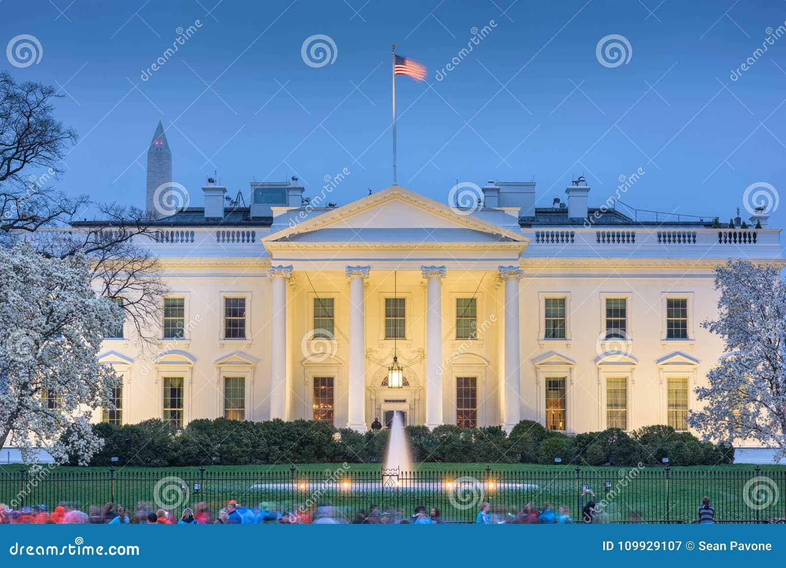 Casa del blanco del Washington DC
