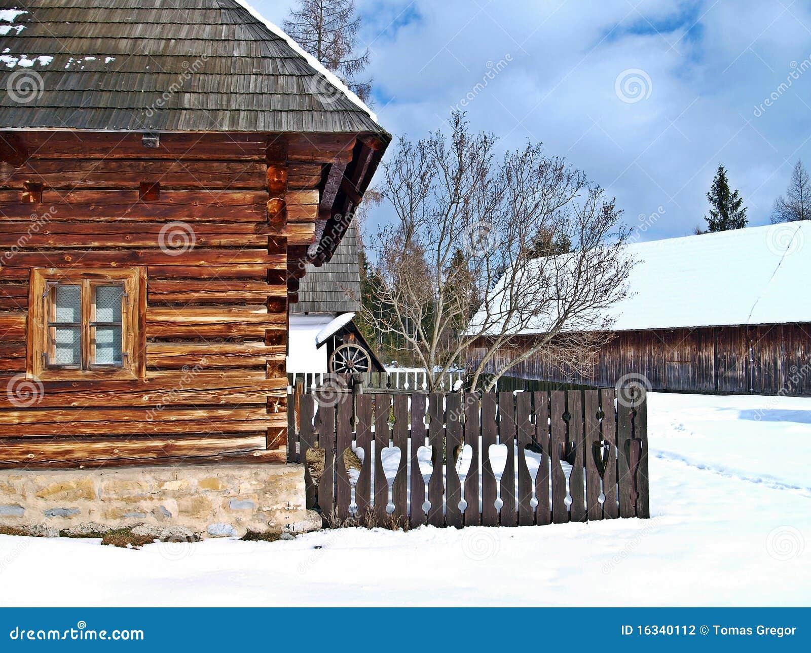 Casa del campesino en Pribylina.
