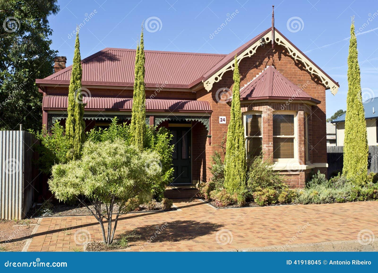 Casa del estilo de Edwardian