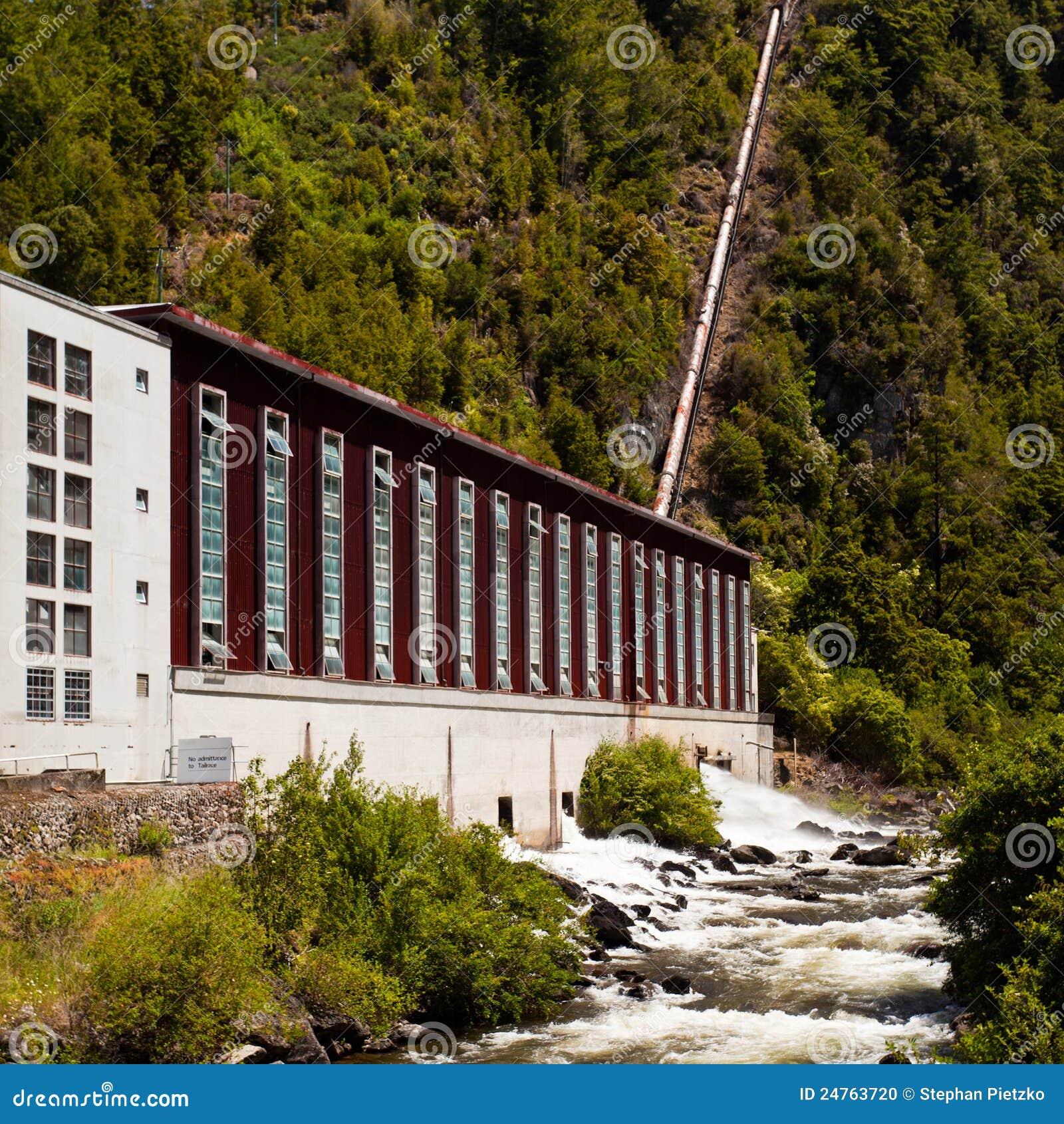 Casa del generatore della pianta di forza idroelettrica for Generatore di casa virtuale gratuito