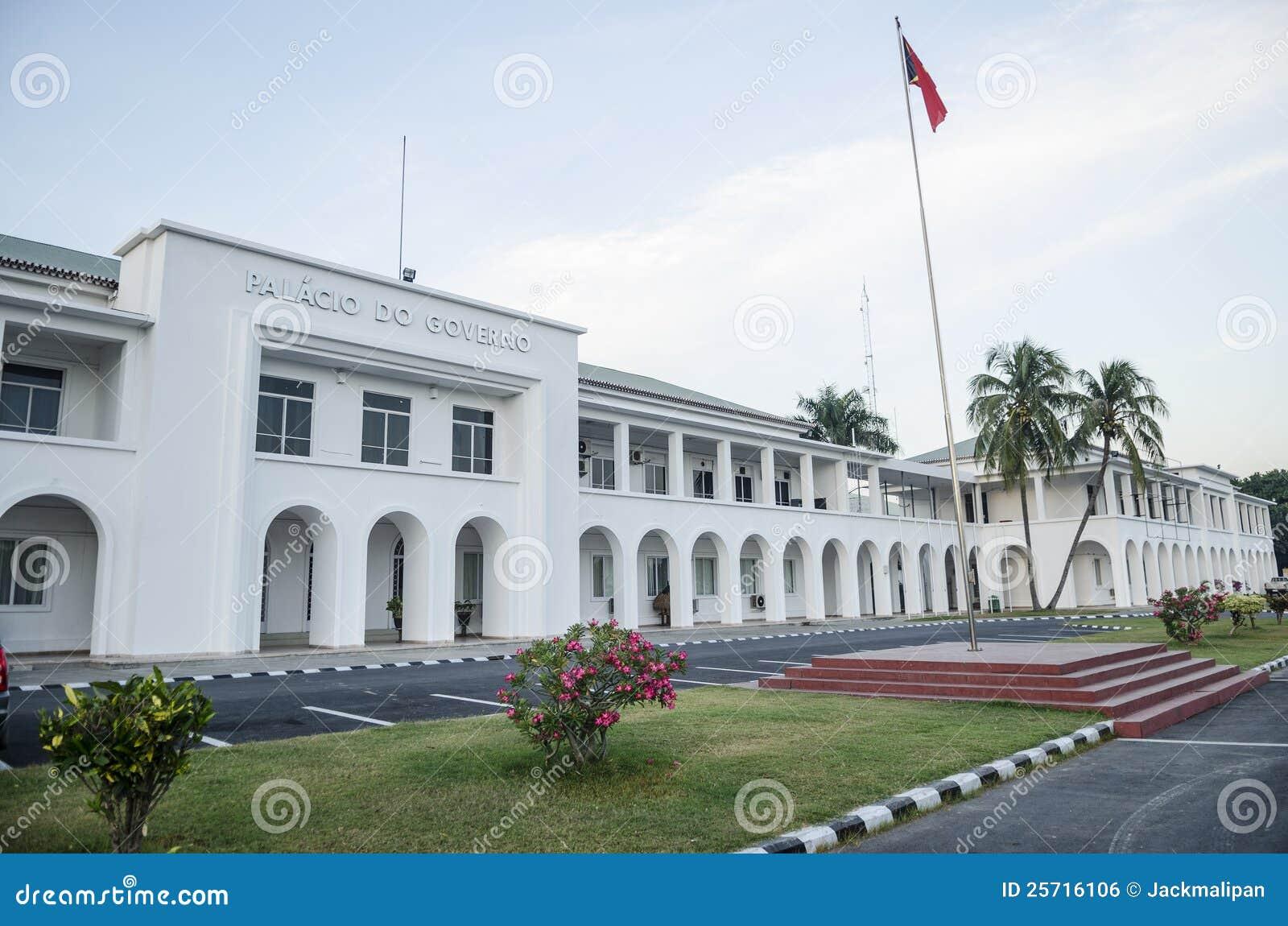 Casa del gobierno en dili Timor Oriental