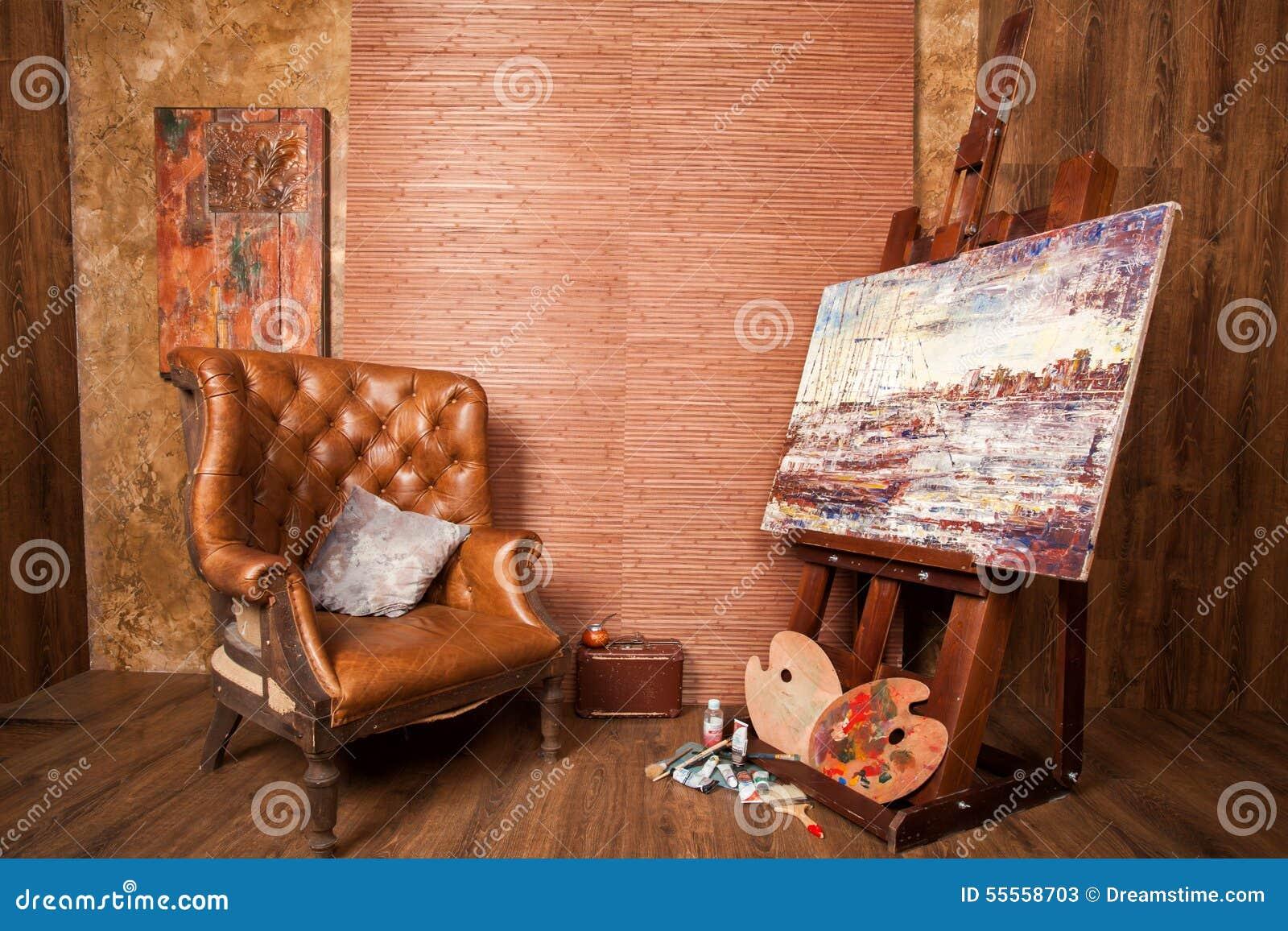 Casa del pintor foto de archivo imagen 55558703 - Casa del pintor ...