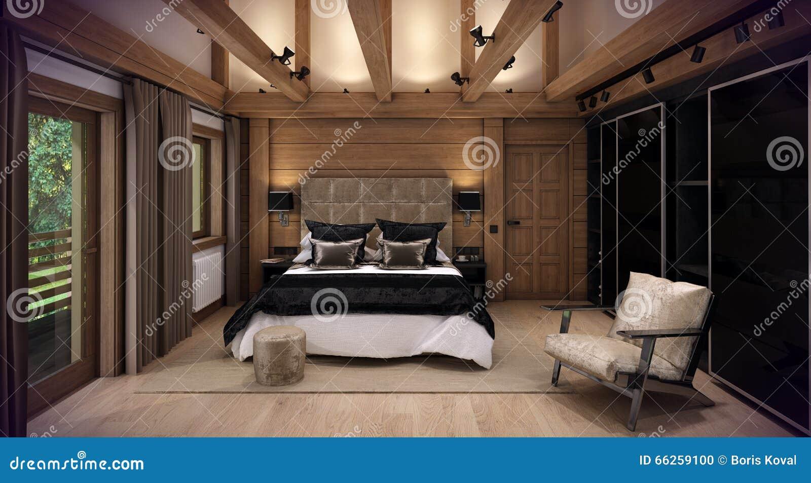 Casa della camera da letto della rappresentazione 3d nella - I segreti della camera da letto ...
