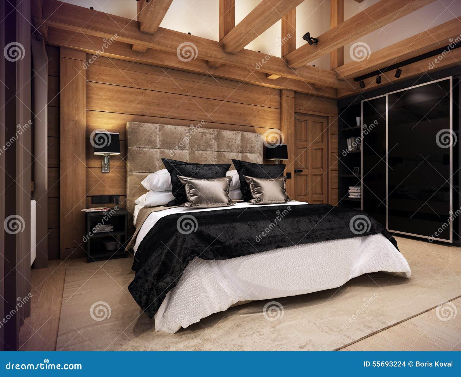 Camera da letto casa di montagna design casa creativa e - Ricci casa camere da letto ...