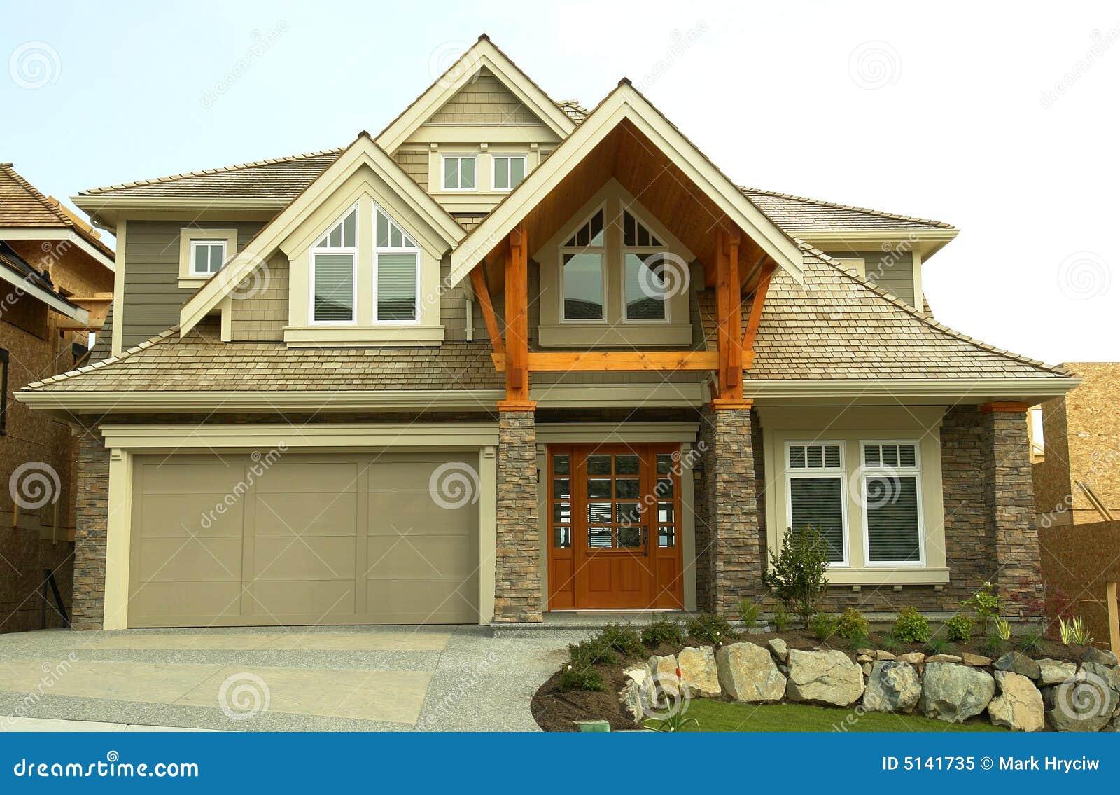 Casa della nuova casa da vendere