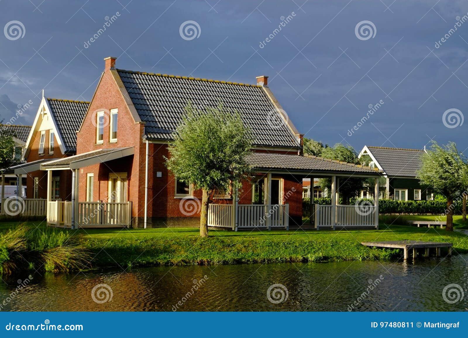 Casa delle vacanze accogliente nel lago da penombra