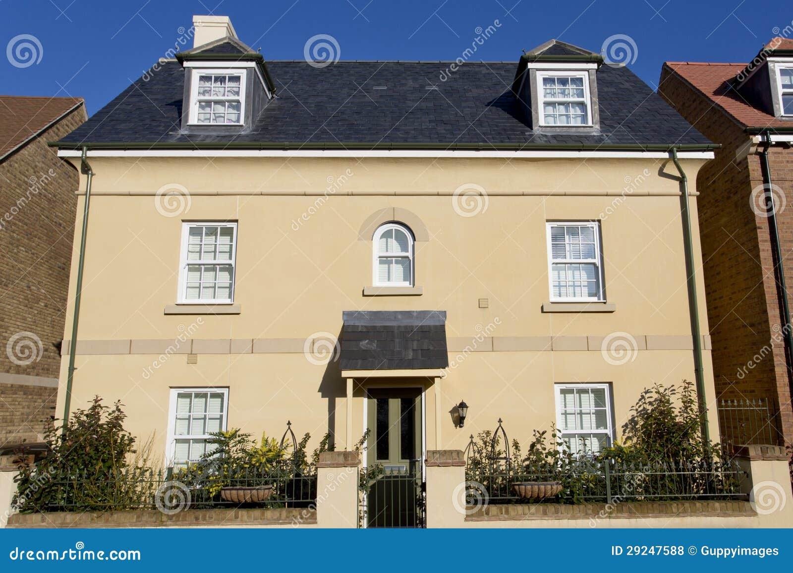 Download Casa destacada Rendered foto de stock. Imagem de residência - 29247588