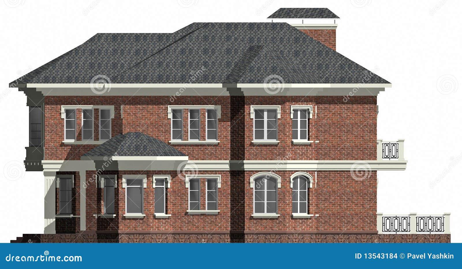 Casa di campagna illustrazione di stock illustrazione di for Architettura della casa di campagna