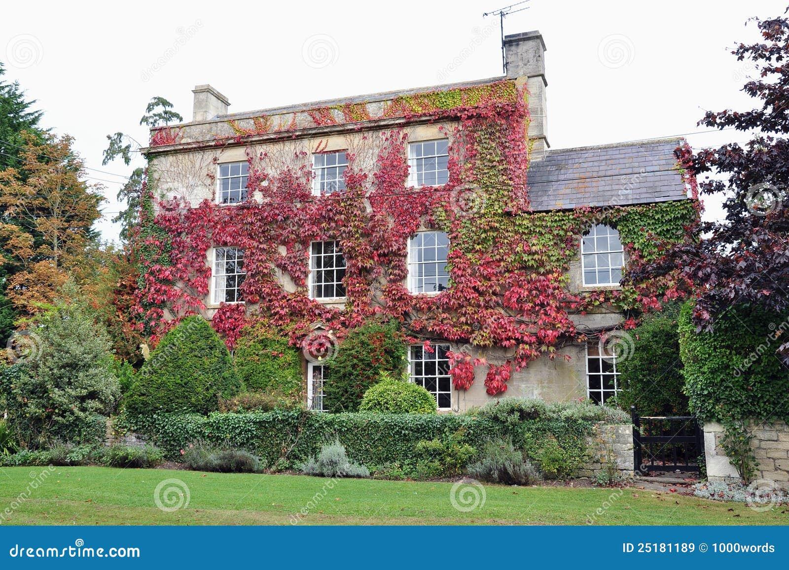 Casa di campagna e giardino immagine stock immagine di architettonico inglese 25181189 - Giardino di campagna ...