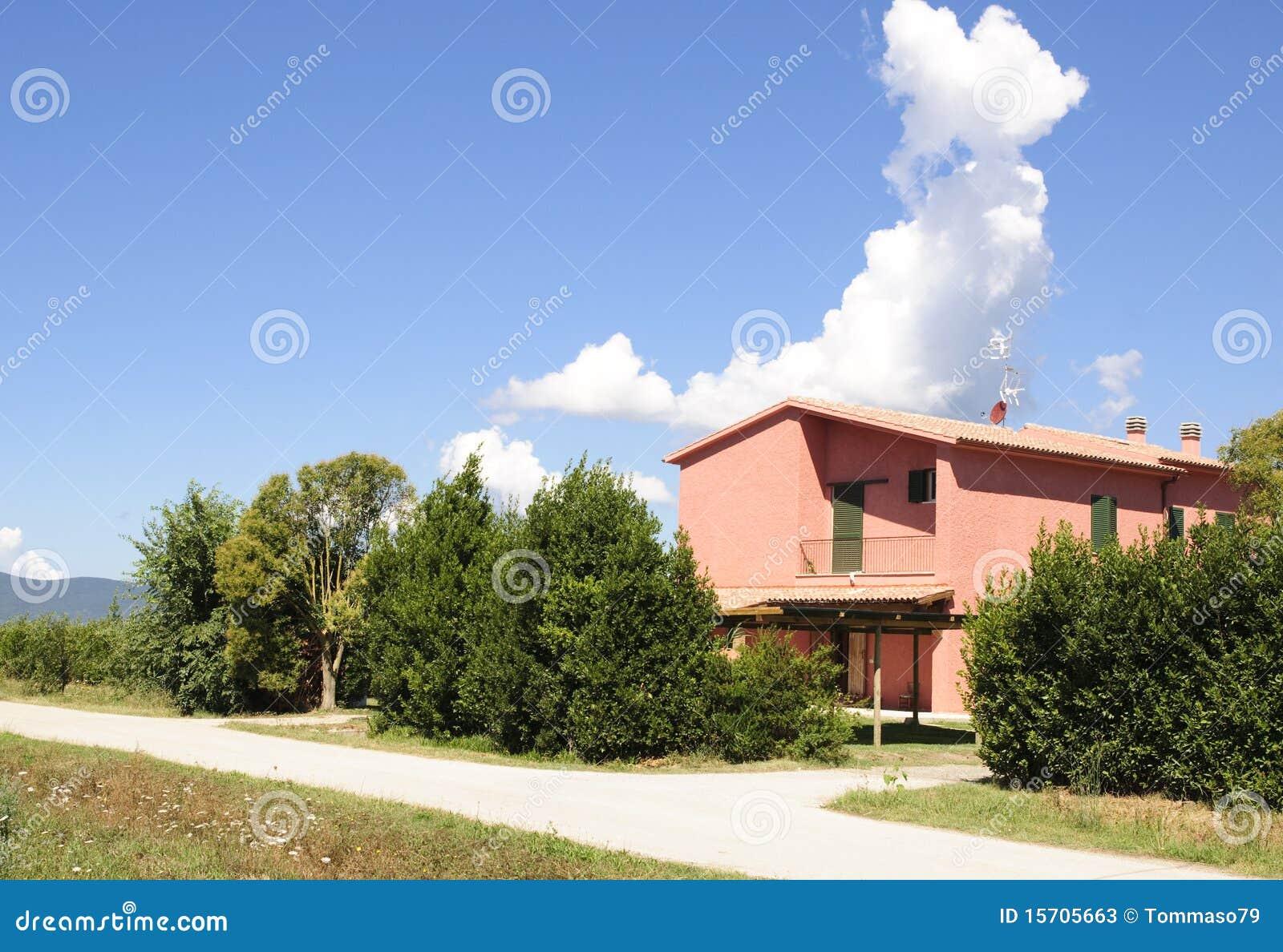 casa di campagna moderna immagine stock immagine di