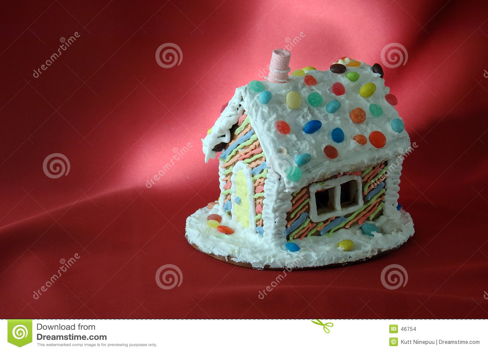 Casa di pan di zenzero di natale