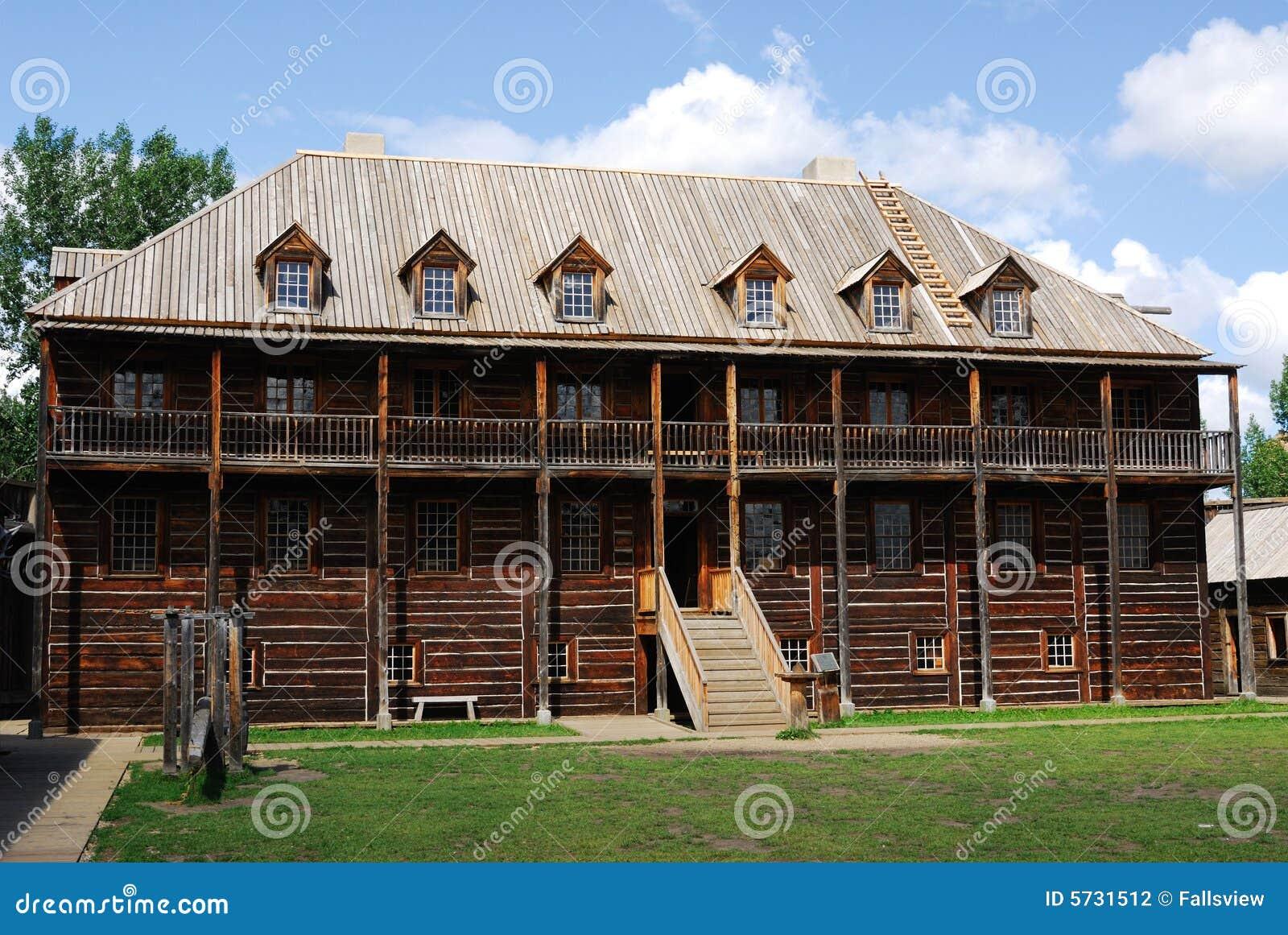 Casa di Rowand nella sosta di Edmonton della fortificazione