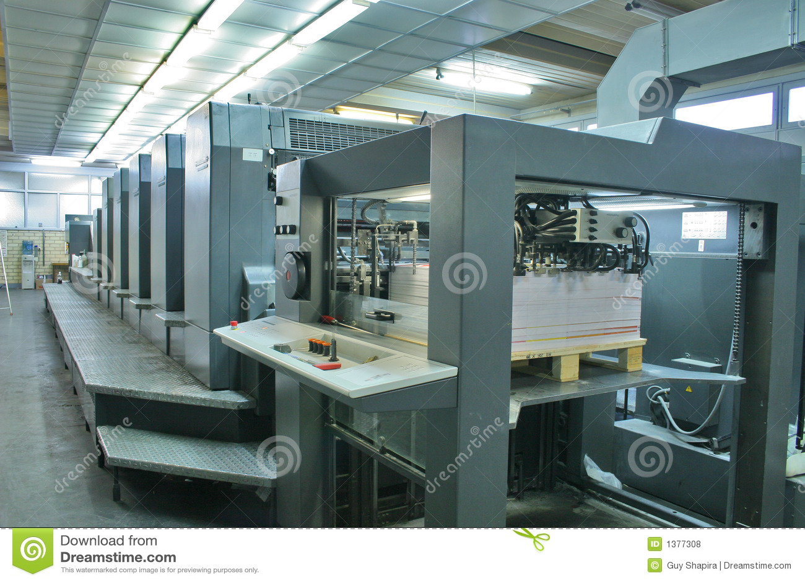 Casa di stampa, stampa offset