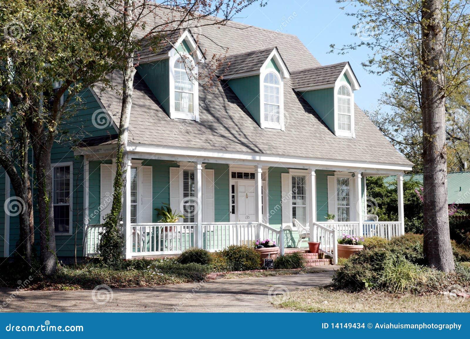 Casa di stile del Victorian del Aqua