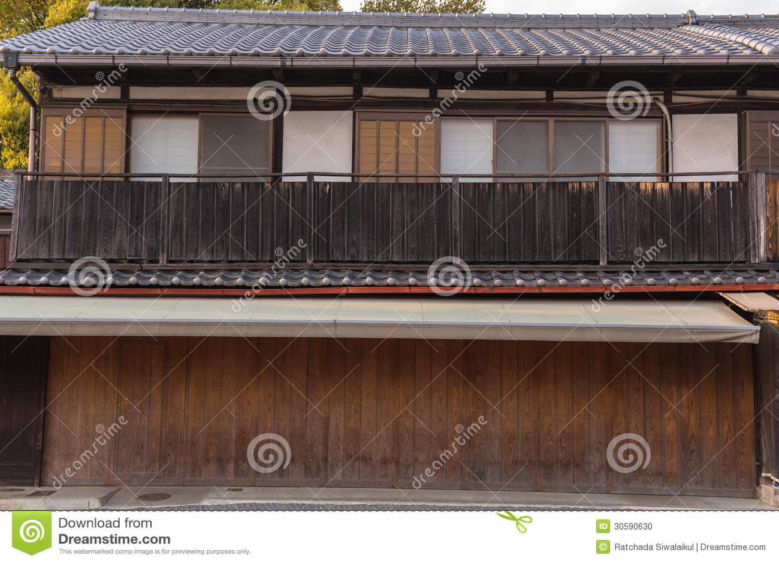 Casa di stile giapponese fotografia stock immagine di for Giapponese a casa