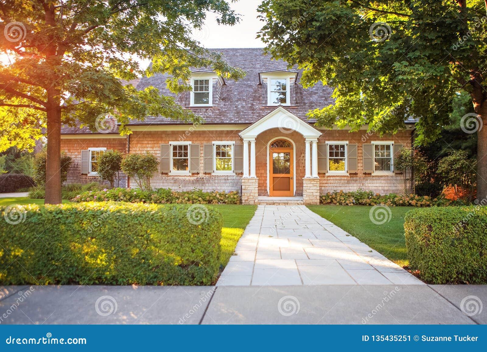 Casa di stile tradizionale