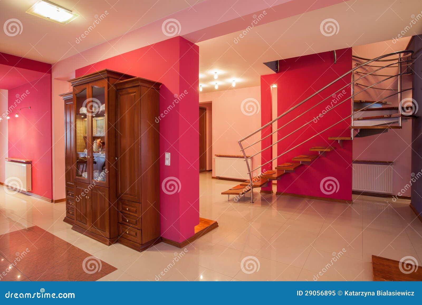 Casa do amaranto - interior colorido