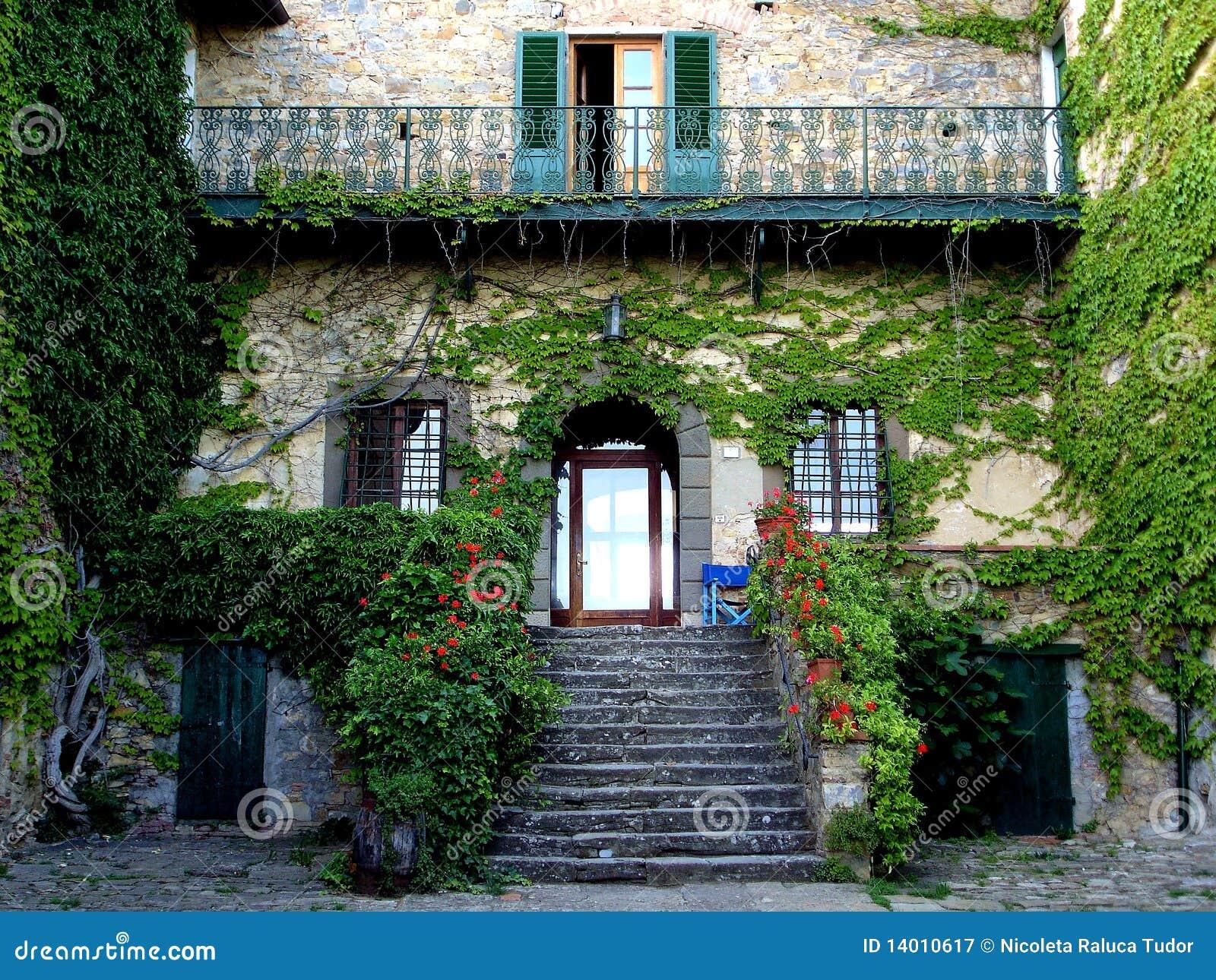 Casa do campo de Tuscan