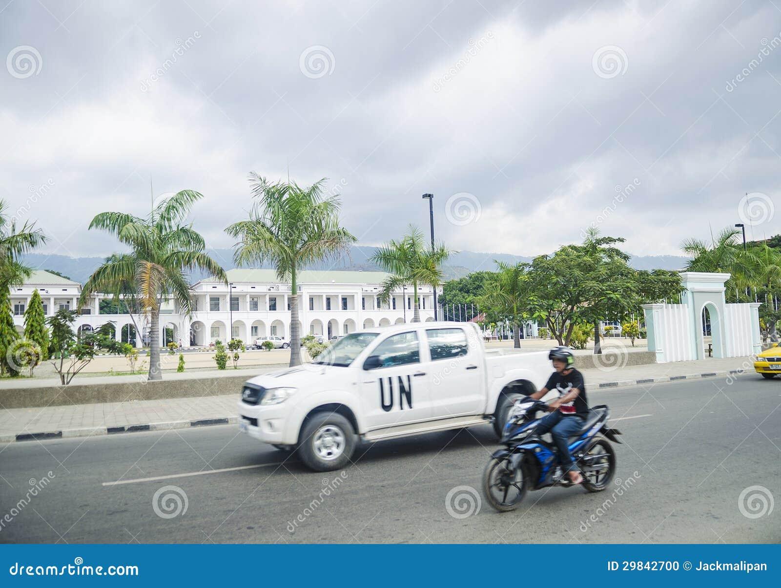 Casa do governo em dili central Timor-Leste