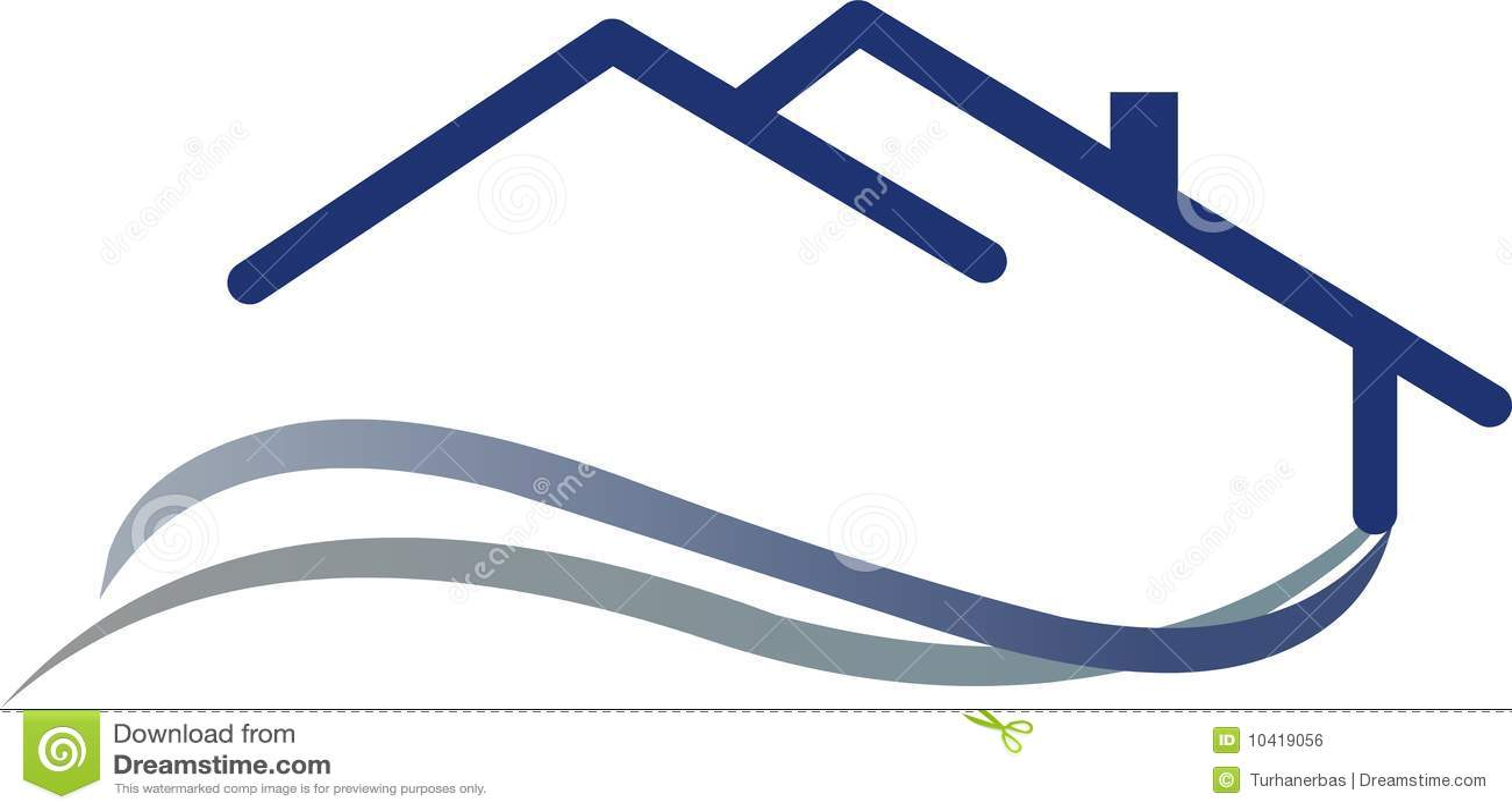 Casa Do Logotipo Imagem De Stock Royalty Free Imagem