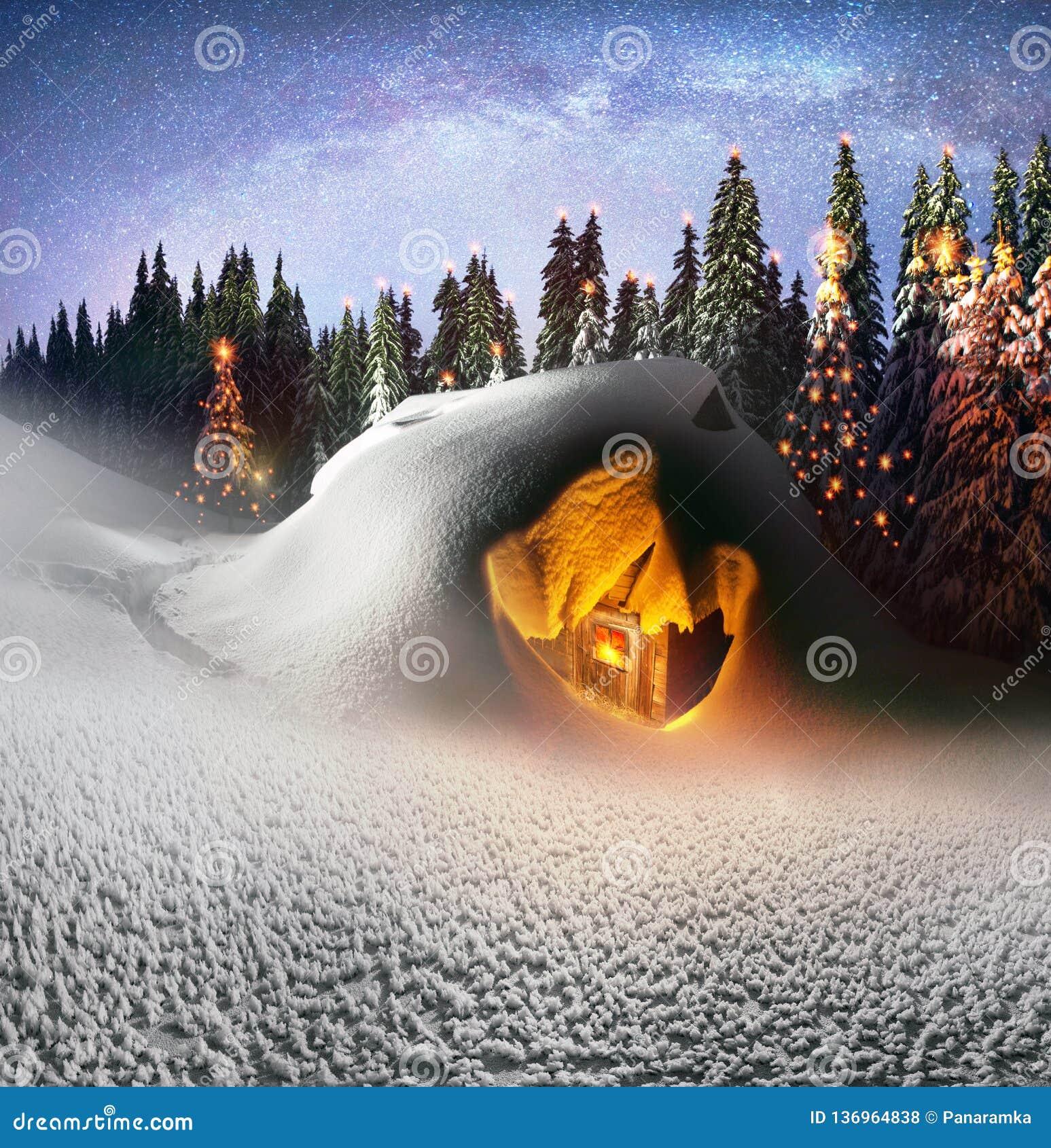 Casa do Natal nos Carpathians