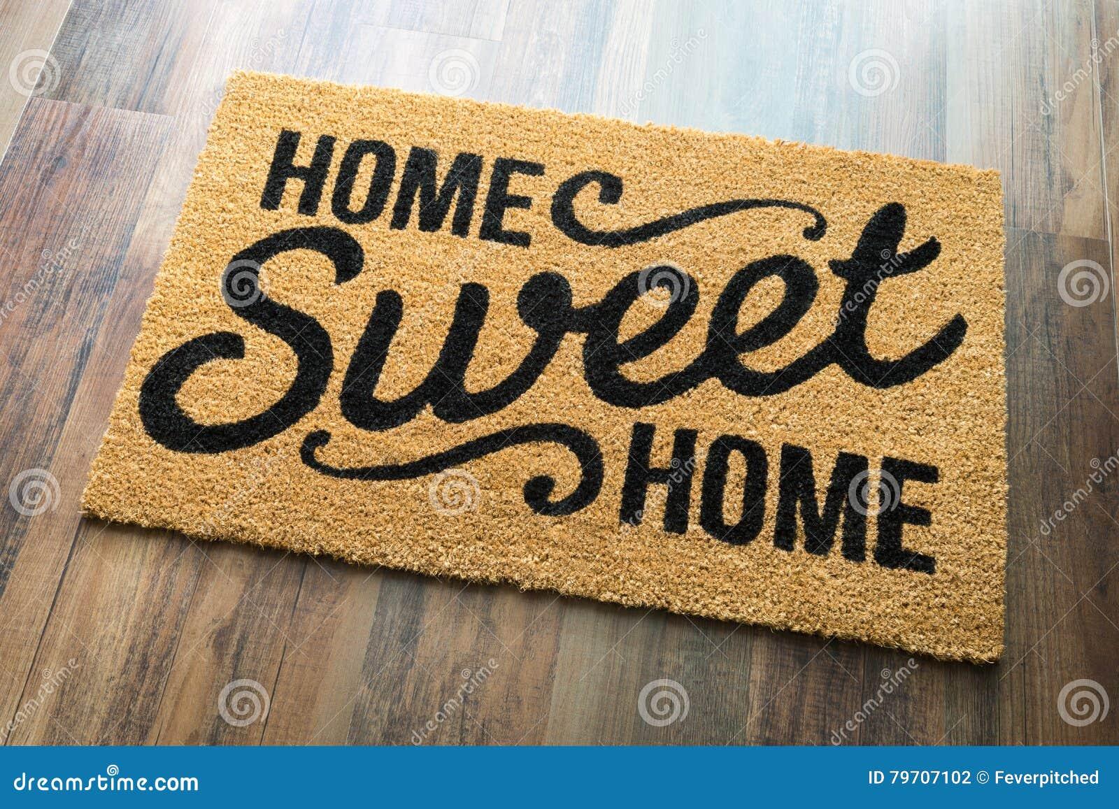 Casa dolce casa Mat On Floor benvenuto