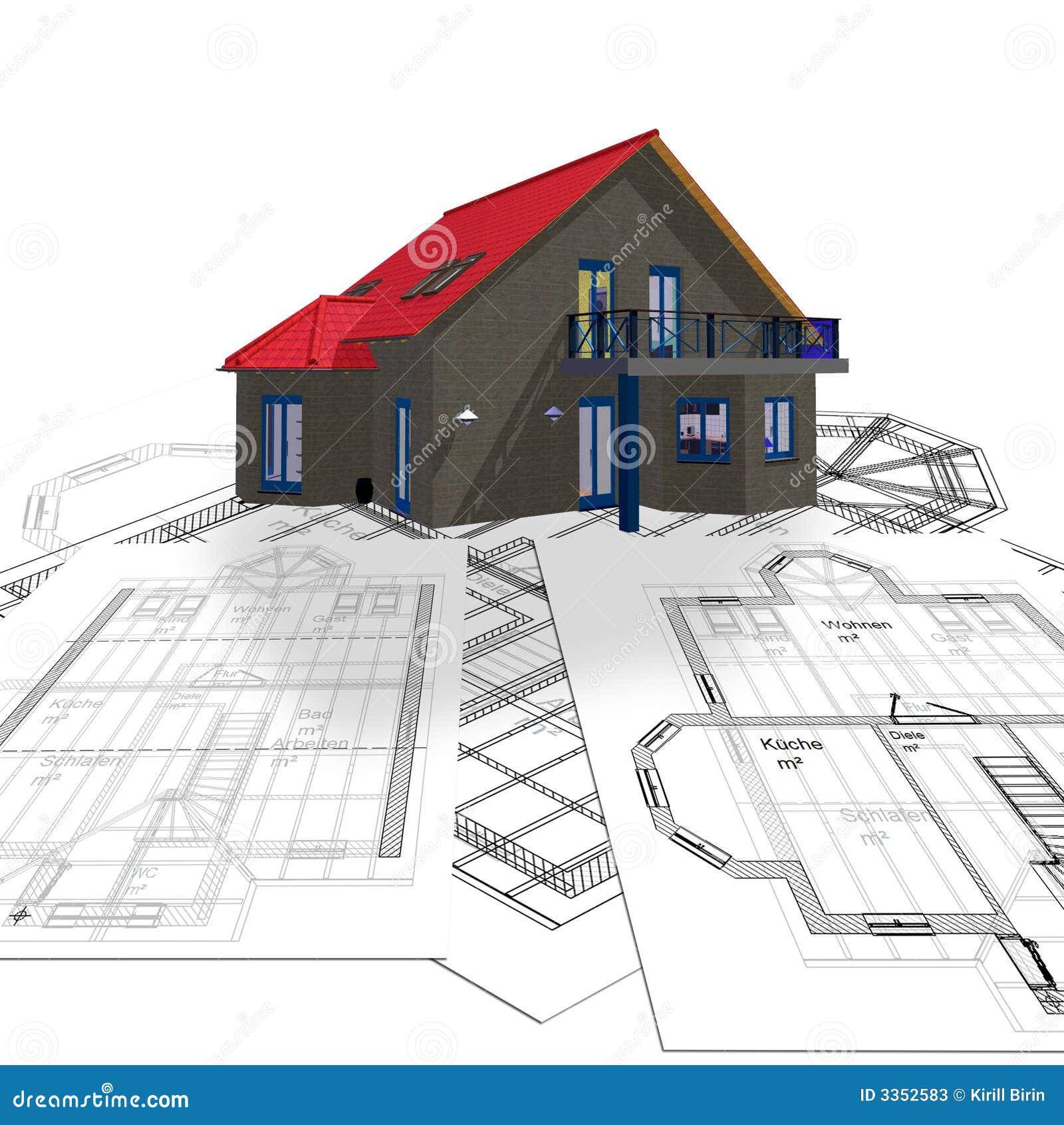 Casa e planta