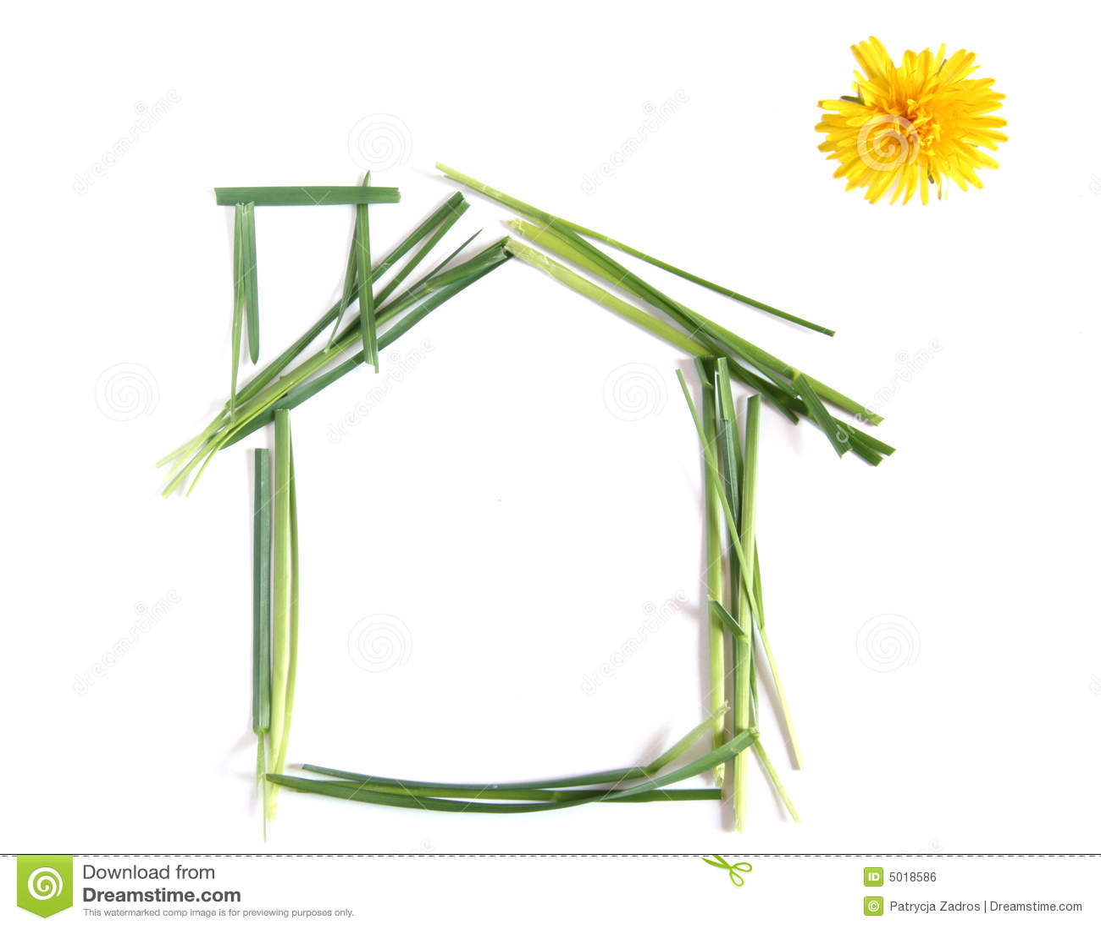 Casa ecologica illustrazione di stock illustrazione di - Casa ecologica prefabbricata prezzi ...