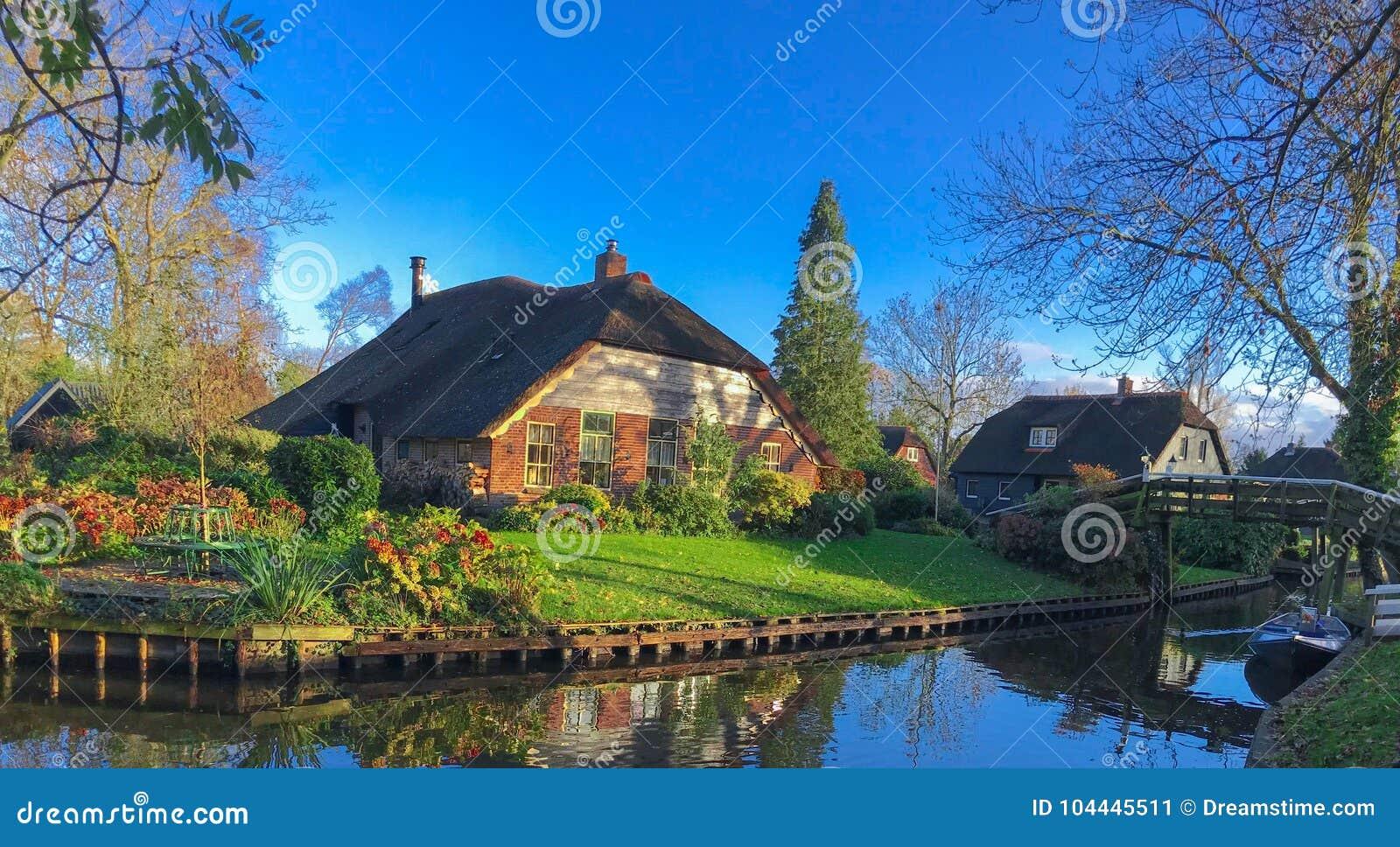 Casa em Giethoorn ~ Holanda, Países Baixos
