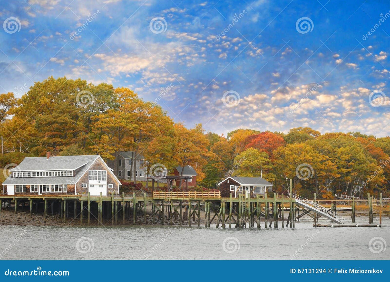 Casa em Portland Maine