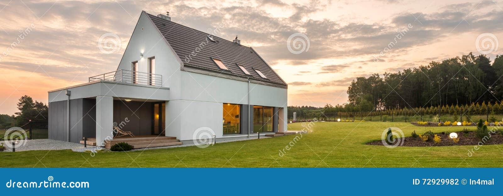 Casa en el medio del verde