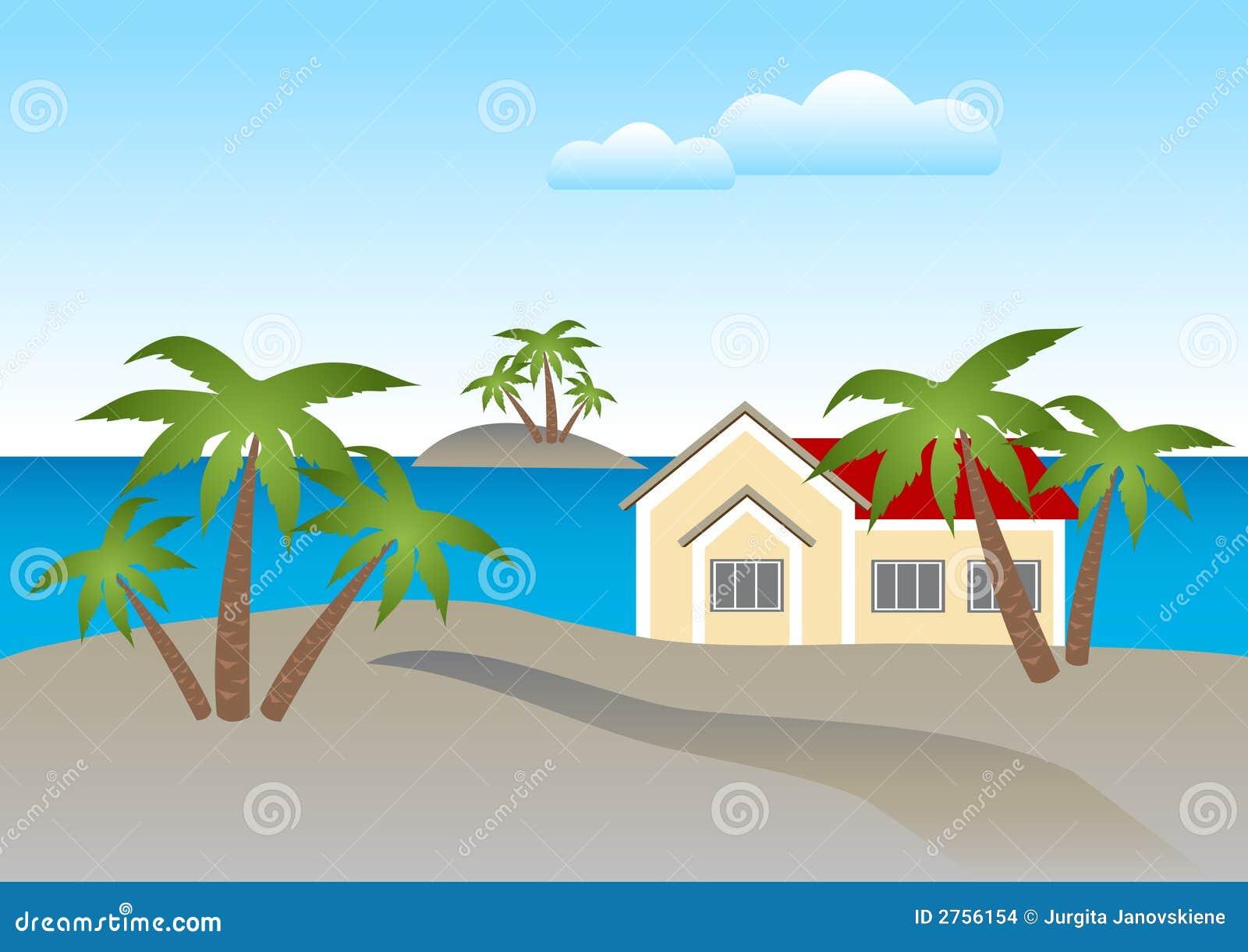 Casa en la playa imagenes de archivo imagen 2756154 - Casas en la provenza ...