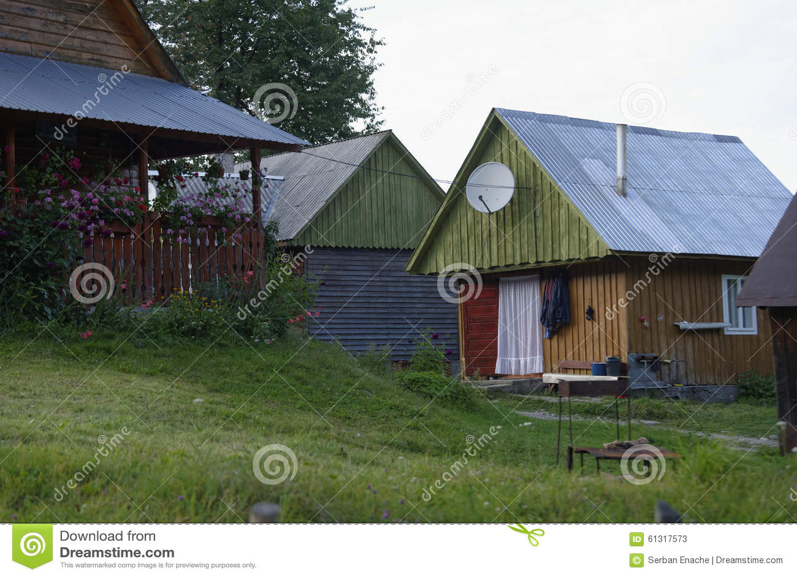 Casa en las montañas de Apuseni, Transilvania, Rumania