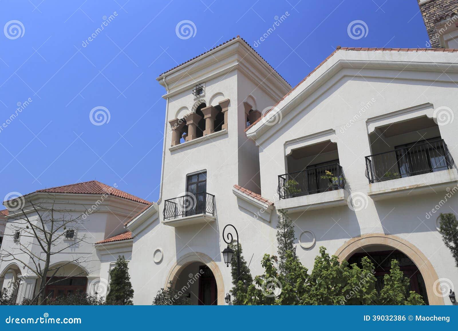 Casa europea del estilo