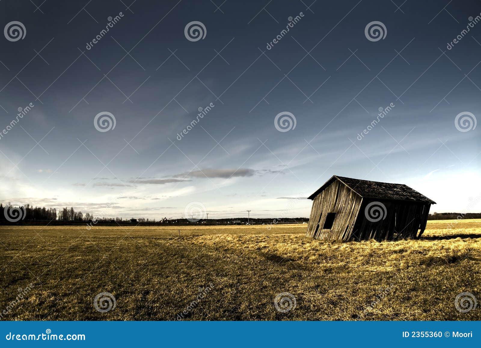 Casa frecuentada abandonada
