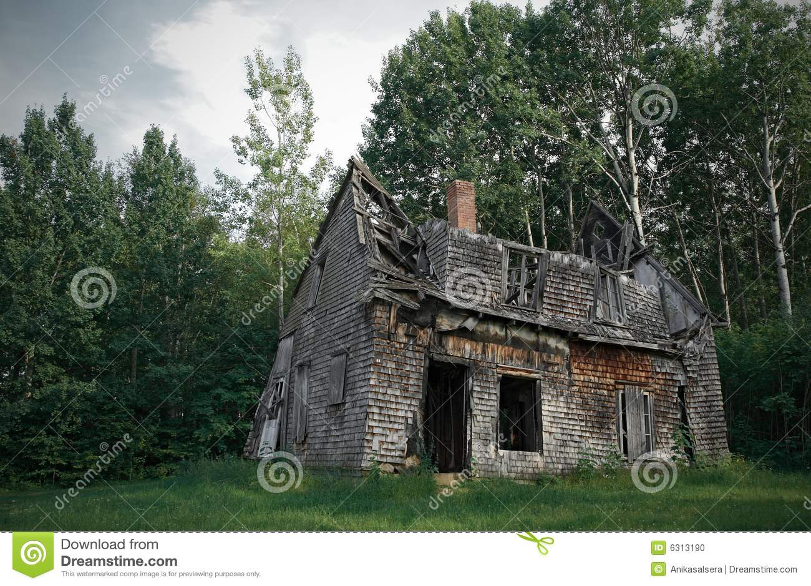 Casa frecuentada fantasmagórica