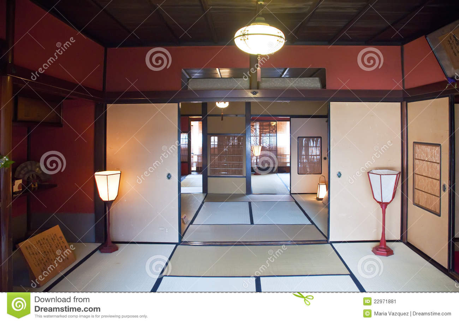 Casa giapponese tipica fotografia editoriale immagine di for La casa giapponese