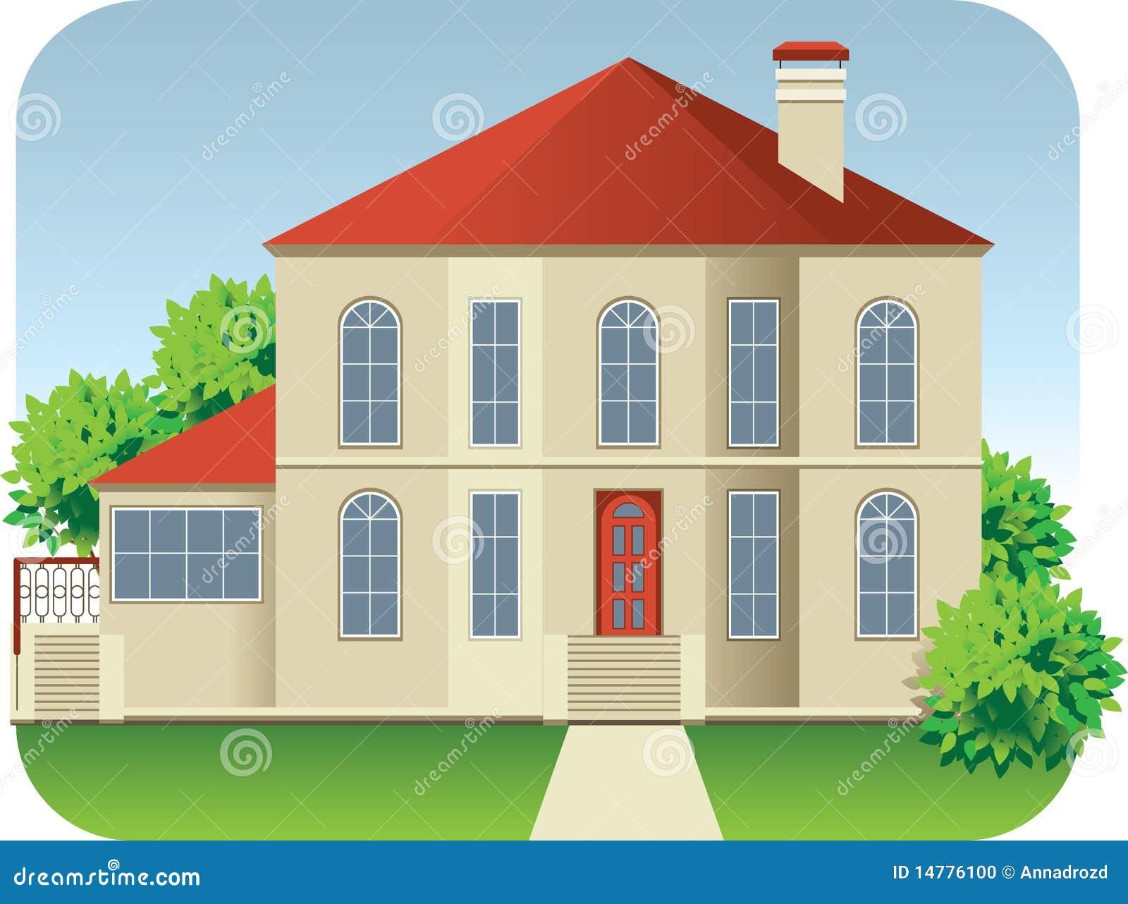 Casa grande foto de archivo imagen 14776100 for Imagen de lavaderos para casas