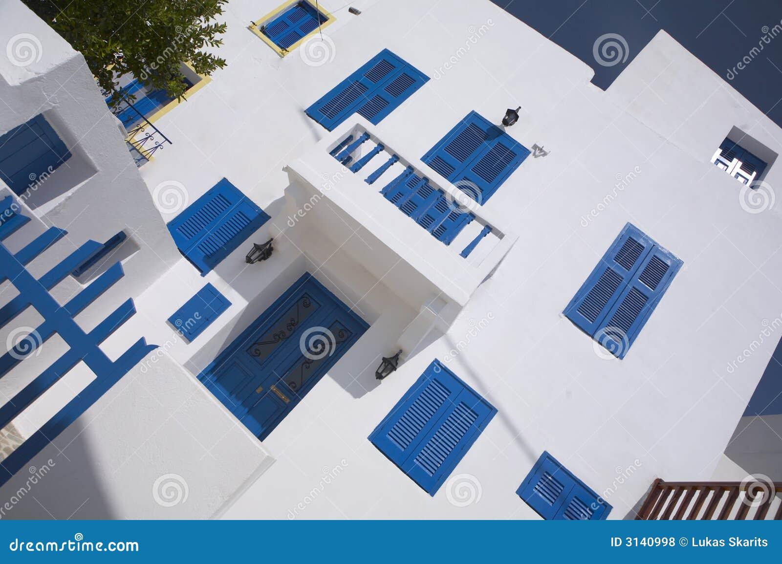 Casa greca tipica