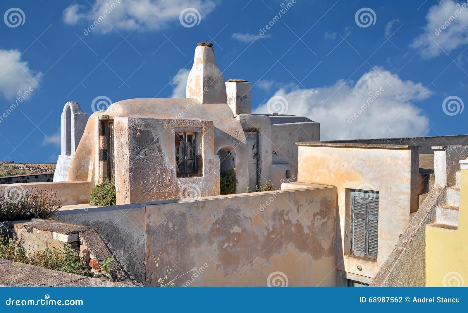 Casa griega tradicional