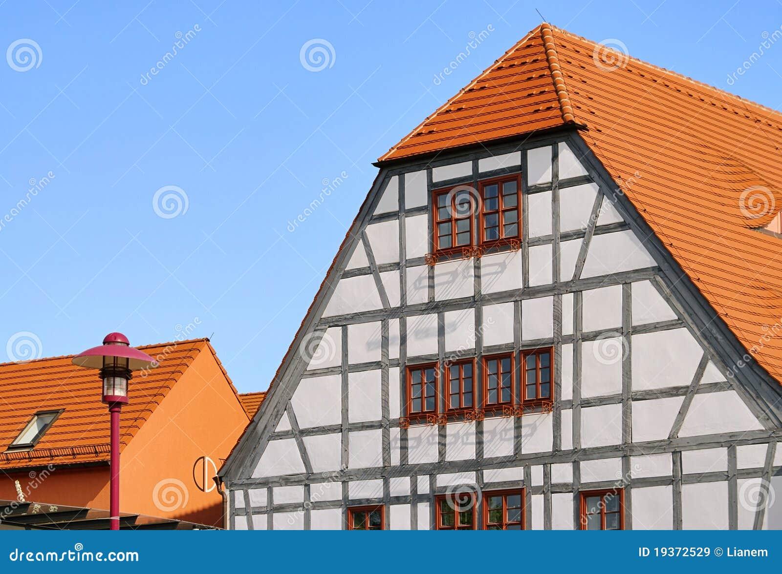 Casa half-timber de Grossraeschen