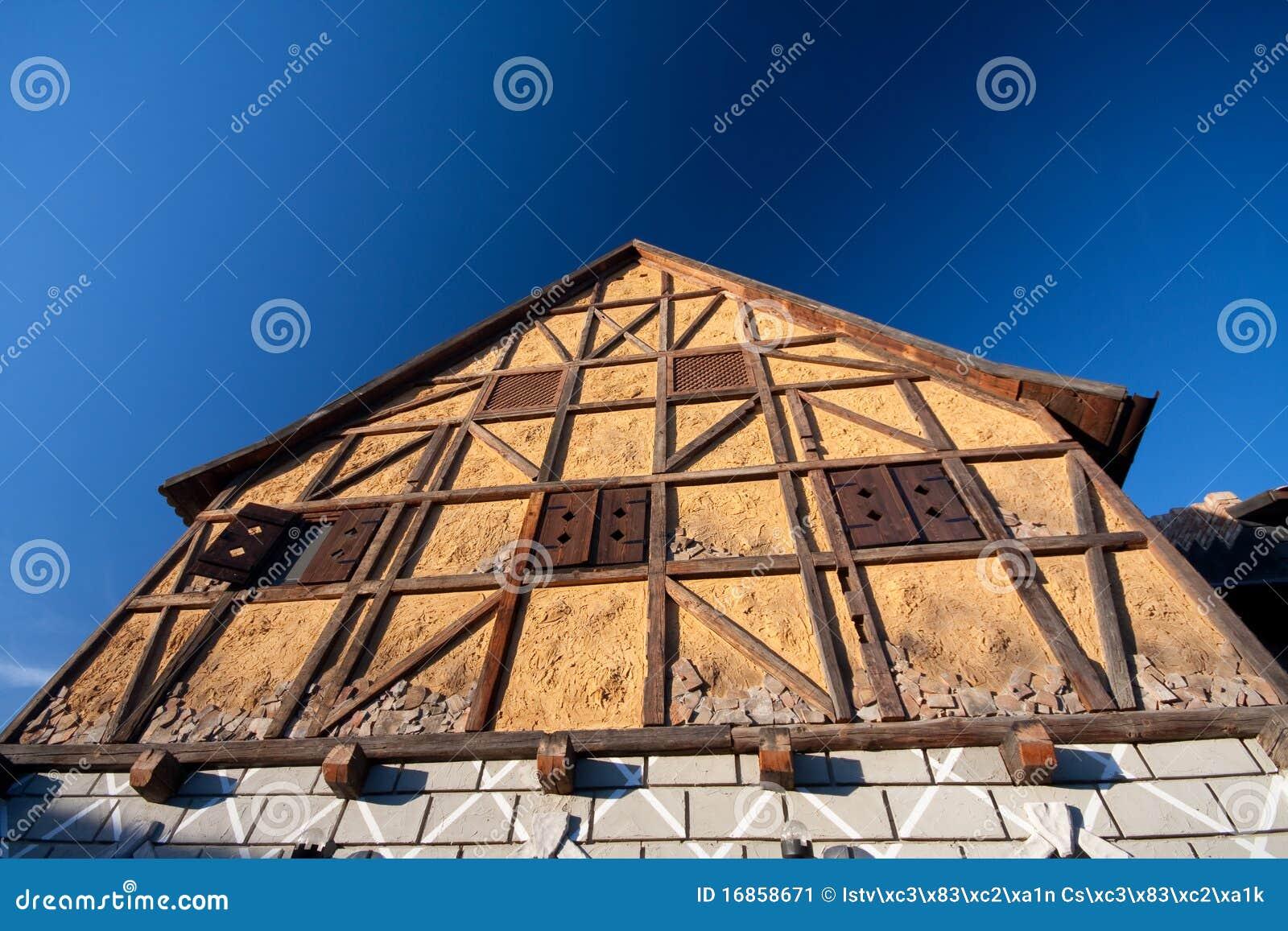 Casa Half-Timbered tradicional
