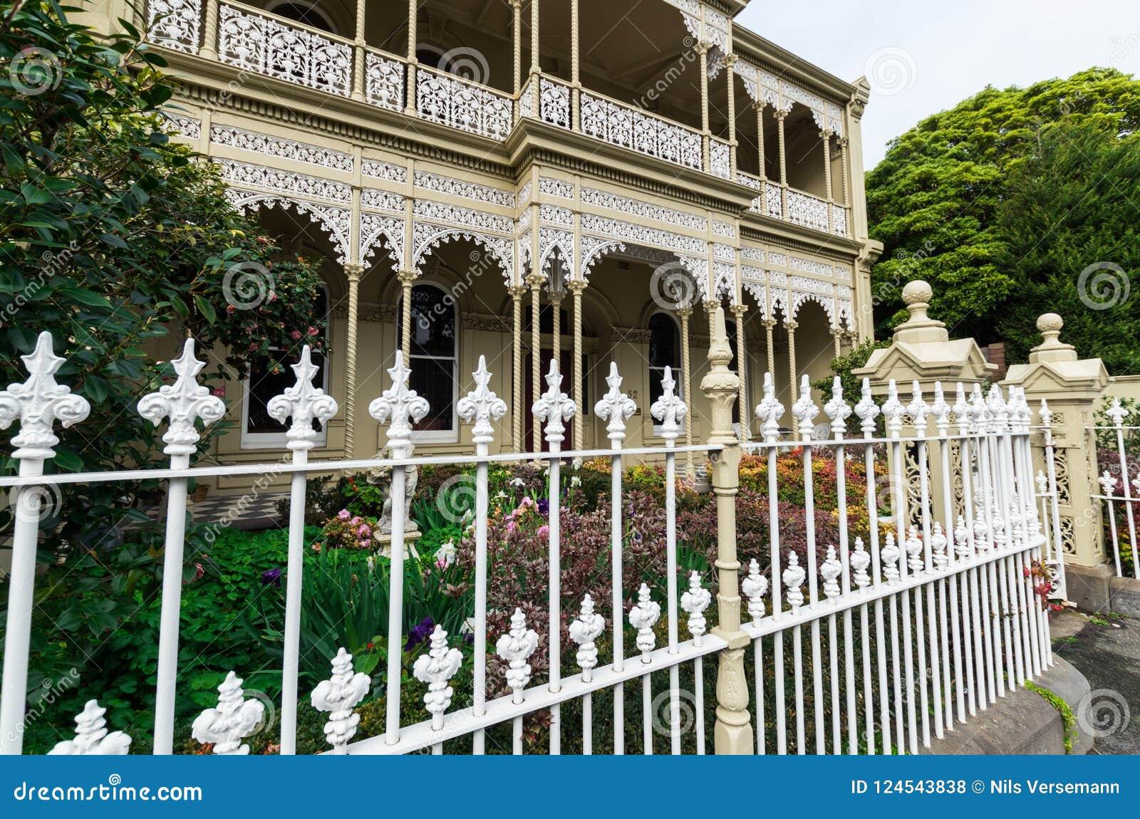 Casa Histórica De La Terraza En Melbourne Del Este En