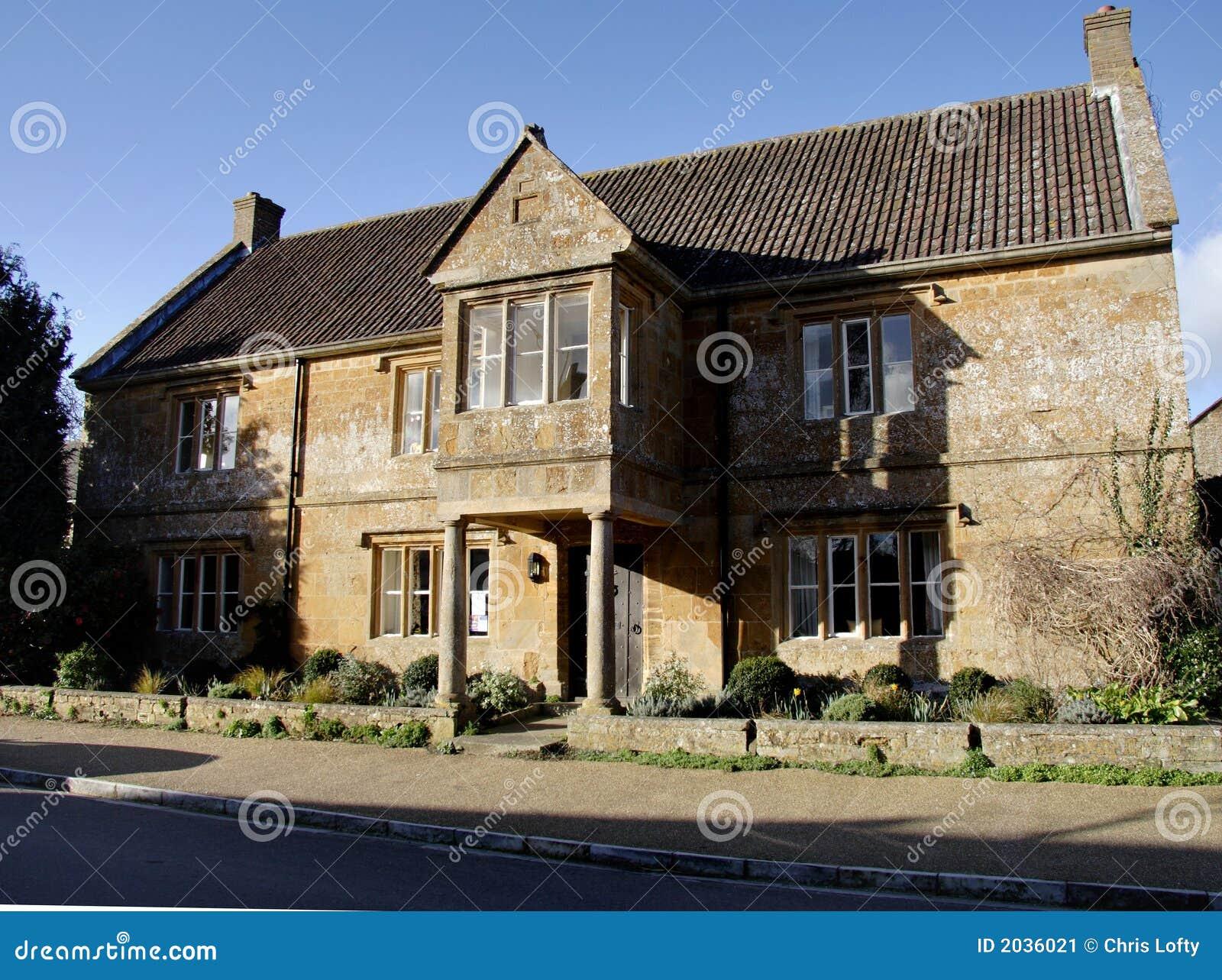 Casa inglesa de la aldea