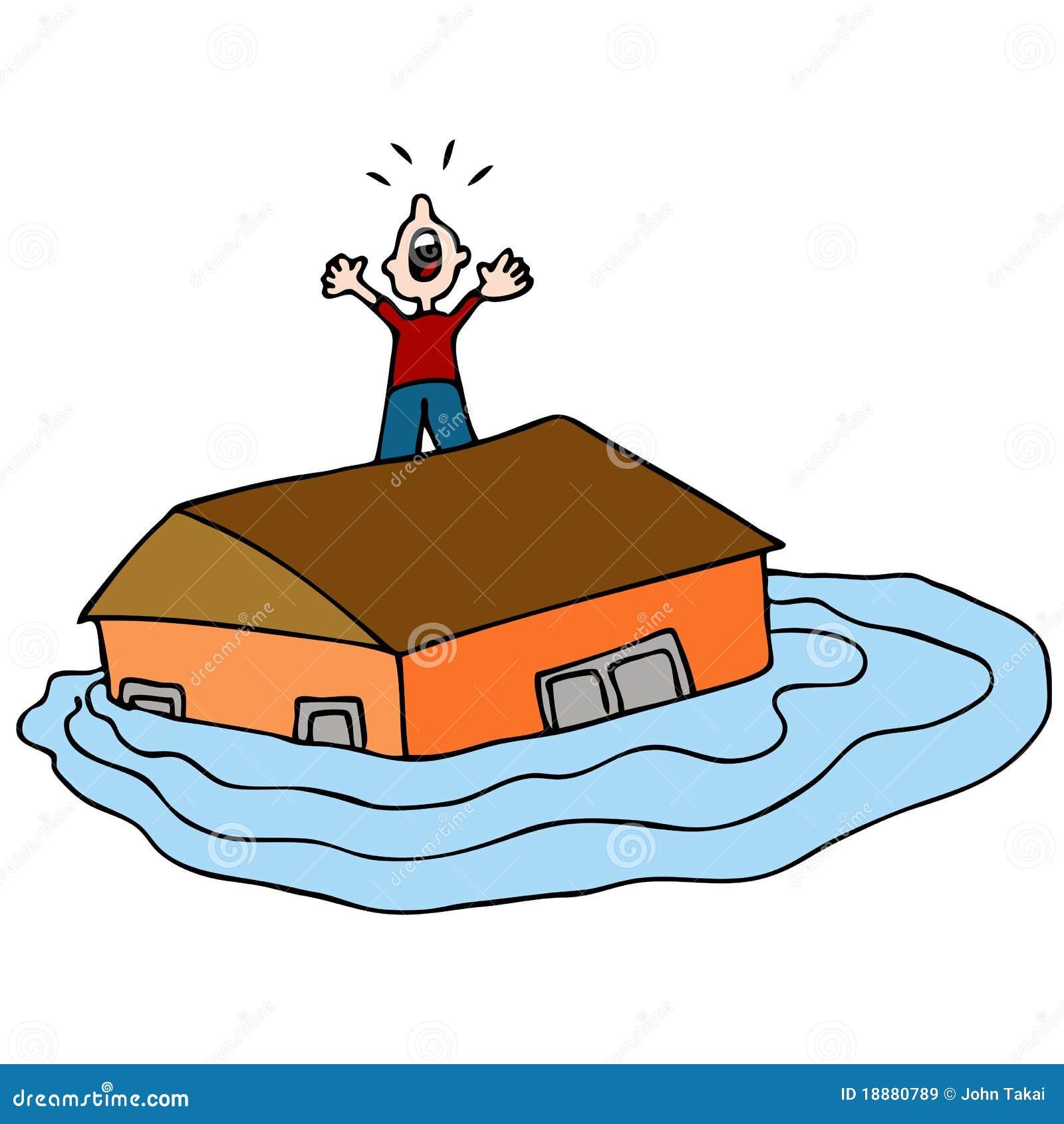 Resultado de imagem para cartoons inundações